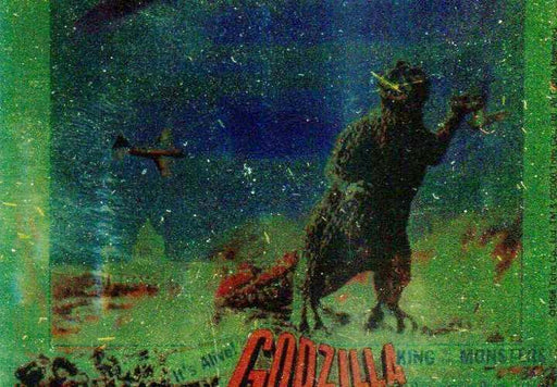 GODZILLA: KING OF THE MONSTERS Puzzle Chase Card Against Planes   - TvMovieCards.com