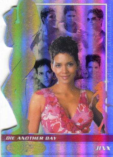 James Bond 40th Anniversary Expansion Halle Berry BW0020 Chase Card   - TvMovieCards.com