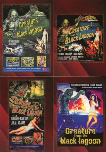 Classic Vintage Movie Posters 1 Science Fiction Horror Breygent Chase Card Set   - TvMovieCards.com