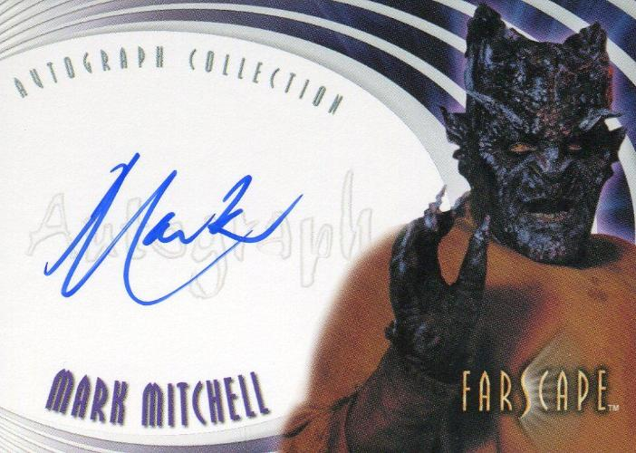 Farscape Through the Wormhole Mark Mitchell Autograph Card A50   - TvMovieCards.com
