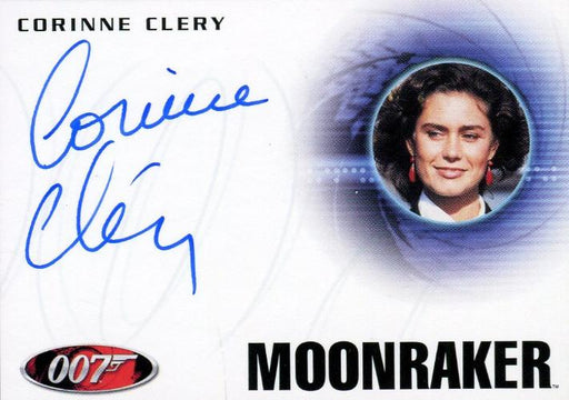 James Bond Heroes & Villains Corinne Clery as Corinne Dufour Autograph Card A153   - TvMovieCards.com