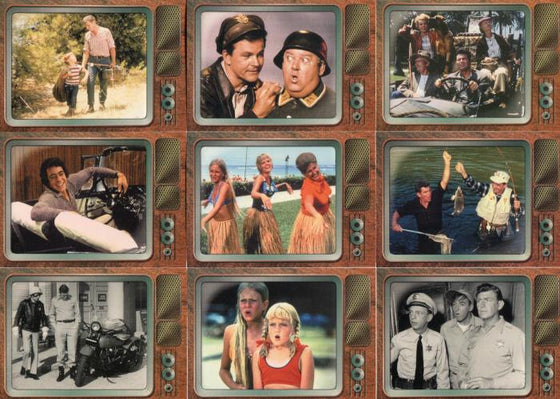 TV's Coolest Classics Memorable Moments Chase Card Set 9 Cards Front