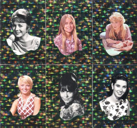 TV's Coolest Classics Dream Girls Chase Card Set 6 Cards Front
