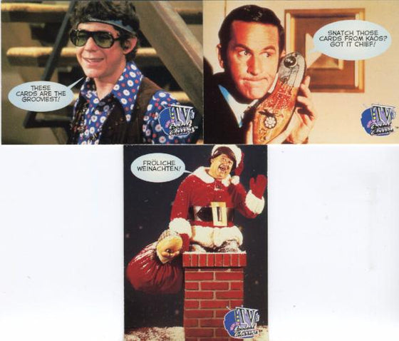 TV's Coolest Classics Promo Card Set 3 Cards Front