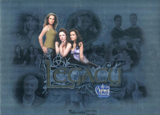 Charmed Forever Limited Edition Legacy Uncut Mini Press Sheet #134 of 199   - TvMovieCards.com