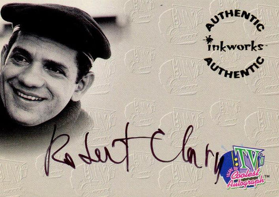 TV's Coolest Classics Robert Clary Autograph Card A5 Front