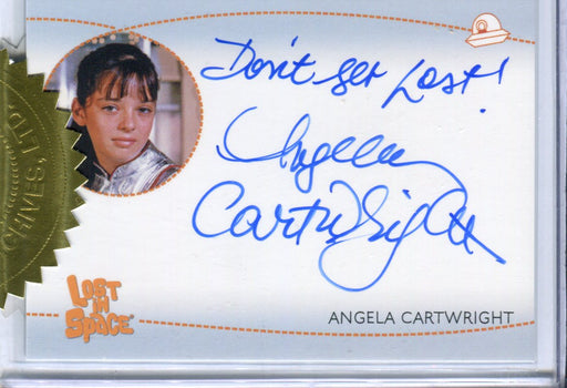 Lost in Space Archives Series 2 Angela Cartwright as Penny Autograph Card AI4   - TvMovieCards.com