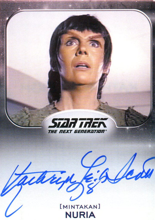 Star Trek Aliens Kathryn Leigh Scott as Nuria Autograph Card   - TvMovieCards.com
