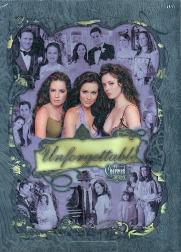 Charmed Destiny Limited Edition Unforgettable Uncut Mini Press Sheet #004 of 199   - TvMovieCards.com