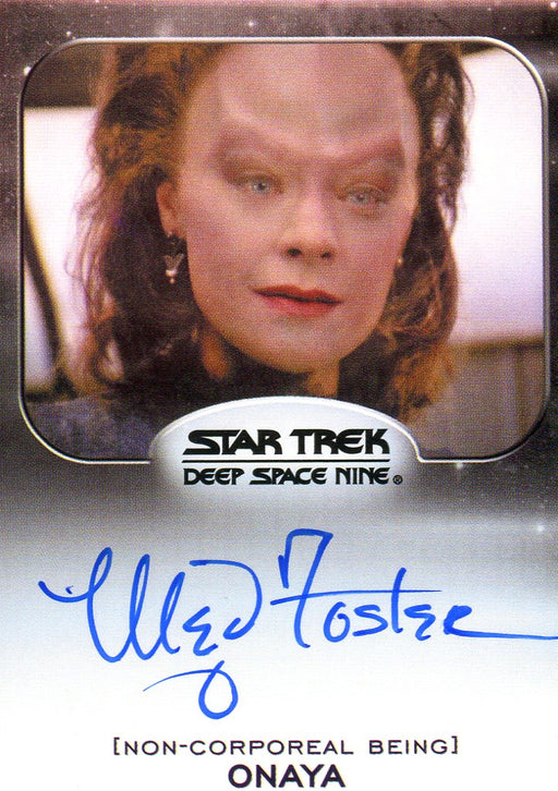 Star Trek Aliens Meg Foster as Onaya Autograph Card   - TvMovieCards.com