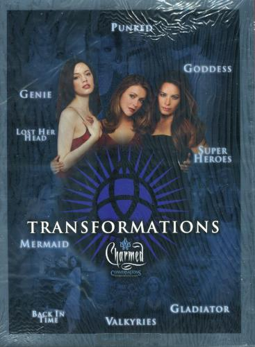 Charmed Conversations Limited Transformations Uncut Mini Press Sheet #187 of 199   - TvMovieCards.com