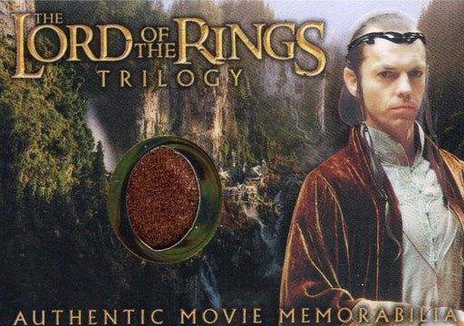 Lord of the Rings Trilogy Chrome Elrond's Rivendell Robe Costume Card   - TvMovieCards.com