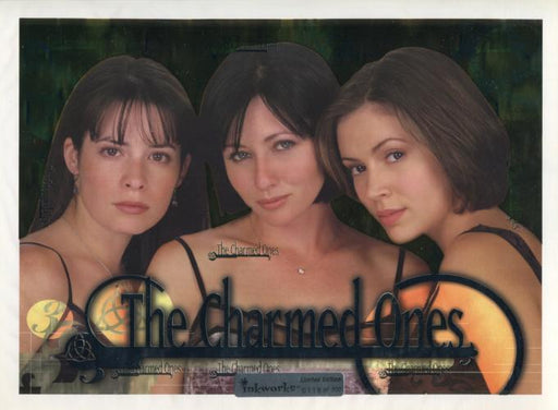 Charmed Season 1 Limited The Charmed Ones Uncut Mini Press Sheet #118 of 500   - TvMovieCards.com
