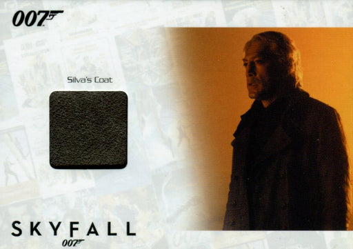 James Bond Autographs & Relics Silva Relic Costume Card SSC40 #012/200   - TvMovieCards.com