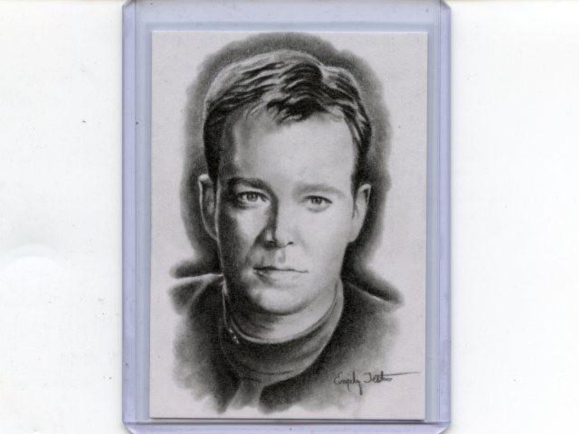 Star Trek 50th Anniversary Sketch Card Tom Paris by Emily Tester
