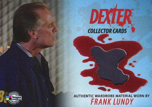 Dexter Seasons 1 & 2 Frank Lundy Wardrobe Relic Costume Card #DC11 Breygent   - TvMovieCards.com
