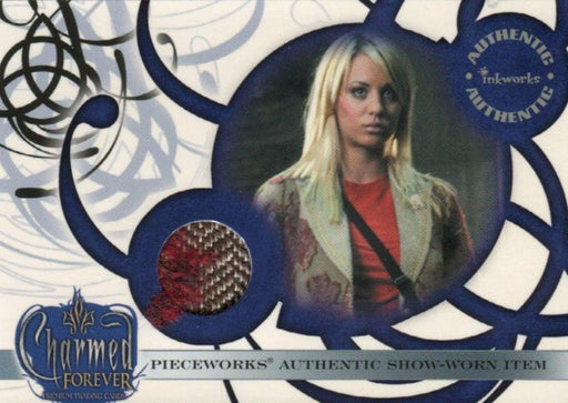 Charmed Forever Kaley Cuoco as Billie Pieceworks Costume Card PW4   - TvMovieCards.com