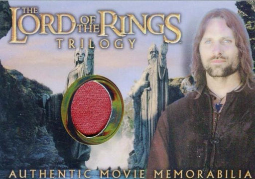 Lord of the Rings Trilogy Chrome Aragorn's House of Healing Shirt Costume Card   - TvMovieCards.com
