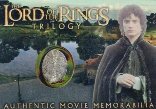 Lord of the Rings Trilogy Chrome Frodo's Elven Tunic Costume Card   - TvMovieCards.com