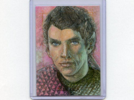Star Trek TOS 50th Anniversary Sketch Card by Debbie Jackson