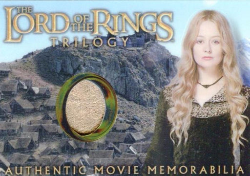 Lord of the Rings Trilogy Chrome Eowyn's Edoras Stables Dress Costume Card   - TvMovieCards.com