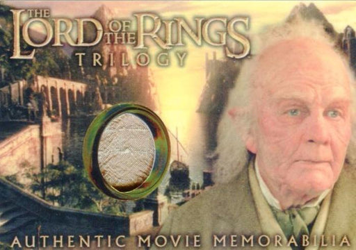Lord of the Rings Trilogy Chrome Bilbo's Grey Havens Waistcoat Costume Card   - TvMovieCards.com