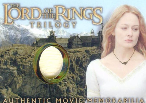 Lord of the Rings Trilogy Chrome Eowyn's Golden Hall Dress Costume Card   - TvMovieCards.com