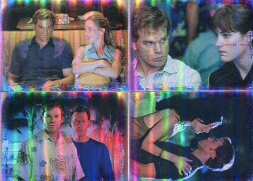 Dexter Seasons 1 & 2 Dexter's Relationships Foil Chase Card Set 4 Cards   - TvMovieCards.com
