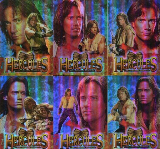 Hercules The Complete Journeys Holofex Chase Card Set 6 Cards H1 thru H6   - TvMovieCards.com