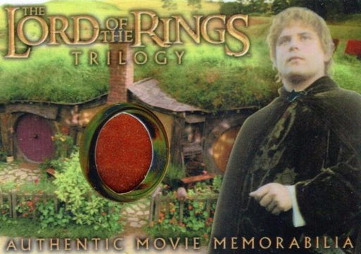 Lord of the Rings Trilogy Chrome Sam's Elven Tunic Costume Card   - TvMovieCards.com