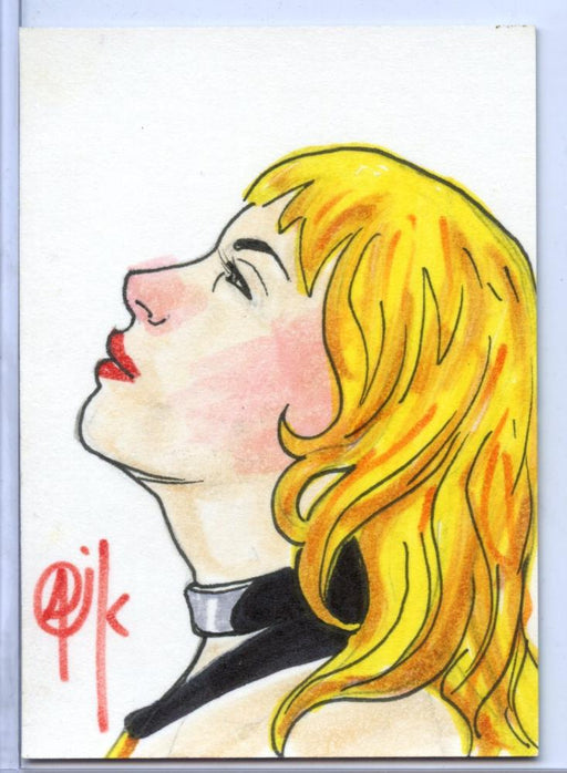 "Vampirella New Series Sketch Card Sketchafex by Charles ""Oak"" Carvalho   - TvMovieCards.com"
