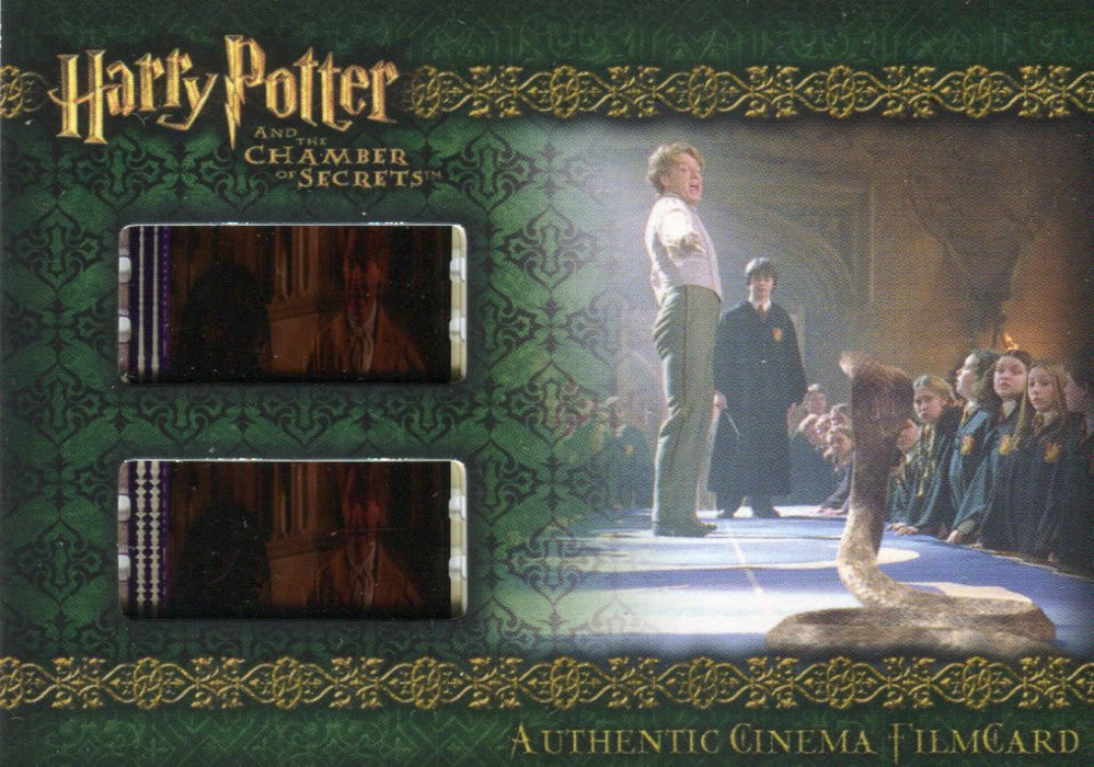 Harry Potter and the Chamber of Secrets Cinema Film Cel Chase Card CFC1   - TvMovieCards.com
