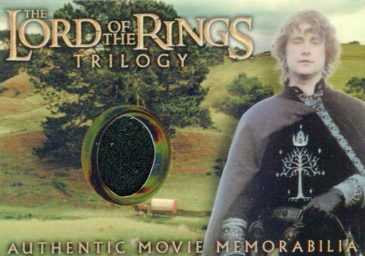 Lord of the Rings Trilogy Chrome Pippin's Gondorian Tunic Costume Card   - TvMovieCards.com