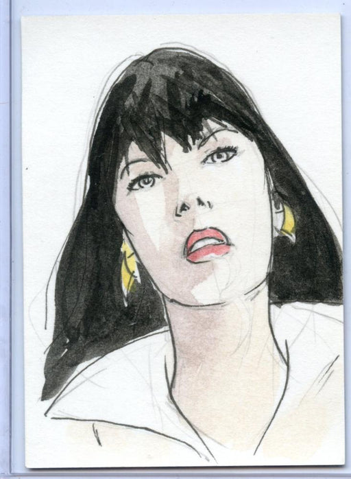 Vampirella New Series Sketch Card  Sketchafex #3   - TvMovieCards.com