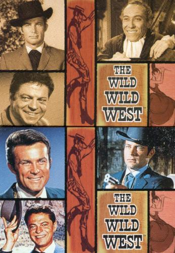 Wild Wild West Seasons 1 & 2 Promo Card Set 2 Cards Front