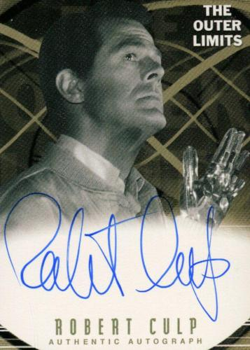 Outer Limits Premiere Autograph Card A2 Robert Culp as Mr. Trent   - TvMovieCards.com