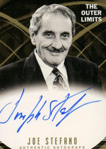 Outer Limits Premiere Autograph Card A17 Joe Stefano Series Producer   - TvMovieCards.com