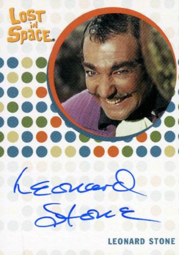 Lost in Space Complete Leonard Stone as Farnum Autograph Card   - TvMovieCards.com