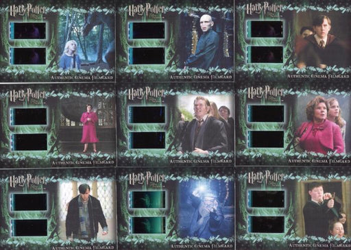 Harry Potter Order of Phoenix Update Cinema Film Cel Chase Card Set 9 Cards   - TvMovieCards.com