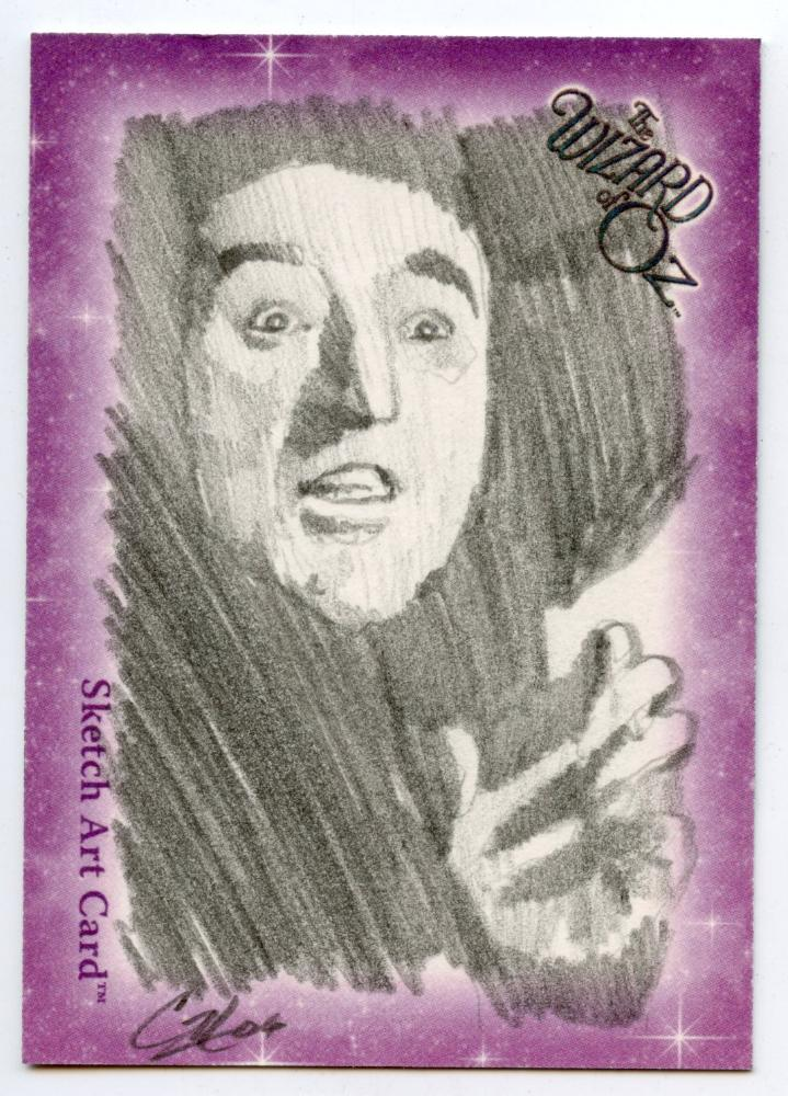 Wizard of Oz Sketch Card by Cat Staggs Wicked Witch