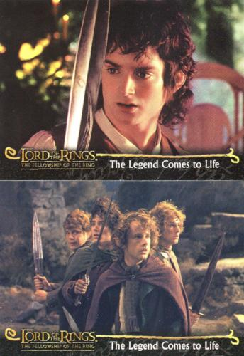 LORD OF THE RINGS FELLOWSHIP OF THE RING PROMOTIONAL CARD P1 UK