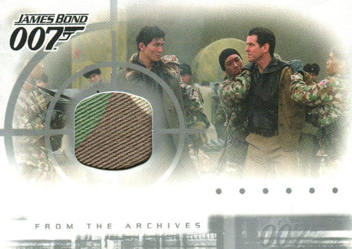 James Bond Die Another Day Case Topper Costume Card AC1   - TvMovieCards.com