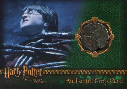 Harry Potter and the Sorcerer's Stone Devil's Snare Prop Card HP #041/100   - TvMovieCards.com