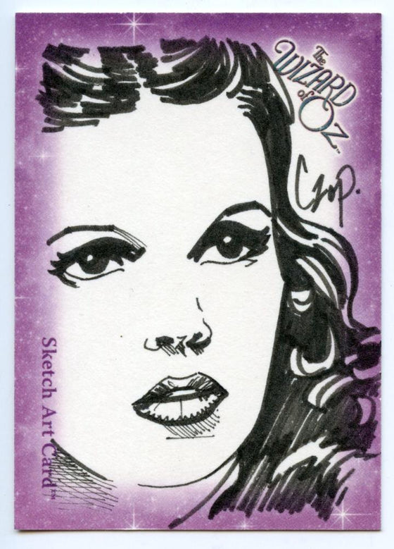 Wizard of Oz Sketch Card by John Czop Dorthy