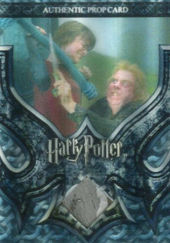 The World of Harry Potter 3D 2 Peter's Dagger Prop Card HP P12 #093/100   - TvMovieCards.com