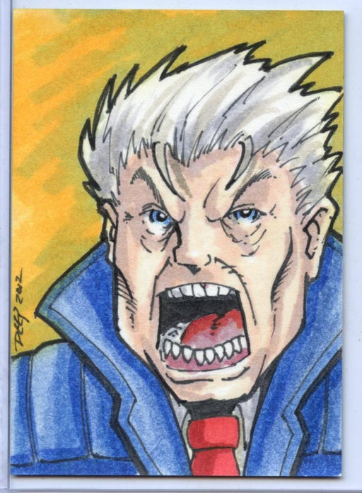 Vampirella New Series Sketch Card Sketchafex by George Deep   - TvMovieCards.com
