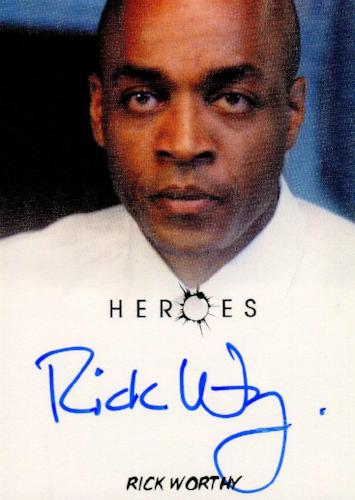 Heroes Archives Rick Worthy as Mike Autograph Card   - TvMovieCards.com
