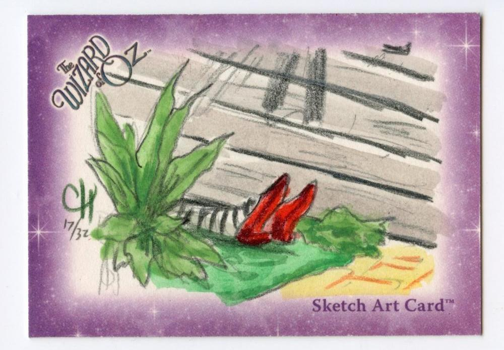 Wizard of Oz Sketch Card by Chris Henderson  Witch is Dead