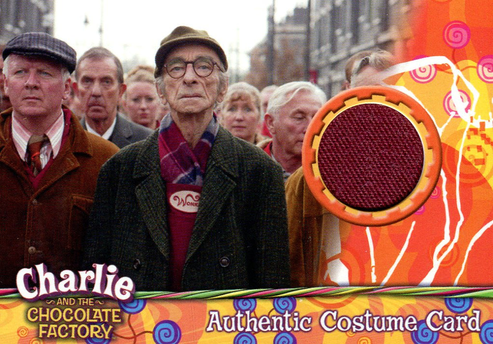 Charlie & Chocolate Factory Wonka Factory Employees Costume Card #264/490   - TvMovieCards.com