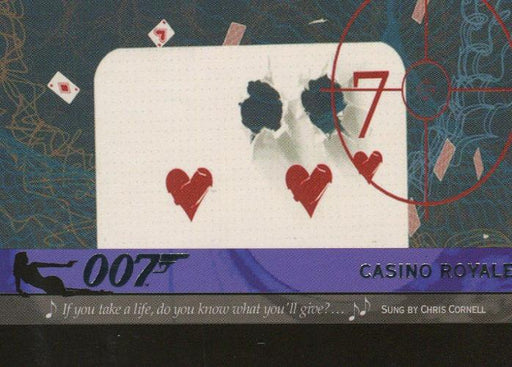 James Bond Heroes & Villains The Quotable Theme Songs Expansion Card T11   - TvMovieCards.com